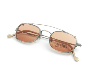 Jean Paul Gaultier 55-0011 1, Jean Paul Gaultier, glasses frames, eyeglasses online, eyeglass frames, mens glasses, womens glasses, buy glasses online, designer eyeglasses, vintage sunglasses, retro sunglasses, vintage glasses, sunglass, eyeglass, glasses, lens, vintage frames company, vf