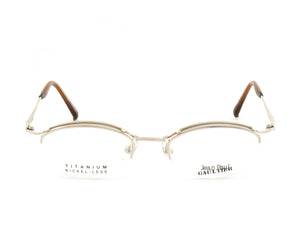 Jean Paul Gaultier 55-0033 1 Titanium-P Front, Jean Paul Gaultier, glasses frames, eyeglasses online, eyeglass frames, mens glasses, womens glasses, buy glasses online, designer eyeglasses, vintage sunglasses, retro sunglasses, vintage glasses, sunglass, eyeglass, glasses, lens, vintage frames company, vf