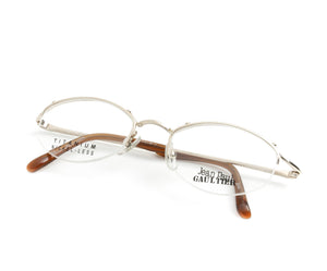 Jean Paul Gaultier 55-0033 1 Titanium-P, Jean Paul Gaultier, glasses frames, eyeglasses online, eyeglass frames, mens glasses, womens glasses, buy glasses online, designer eyeglasses, vintage sunglasses, retro sunglasses, vintage glasses, sunglass, eyeglass, glasses, lens, vintage frames company, vf