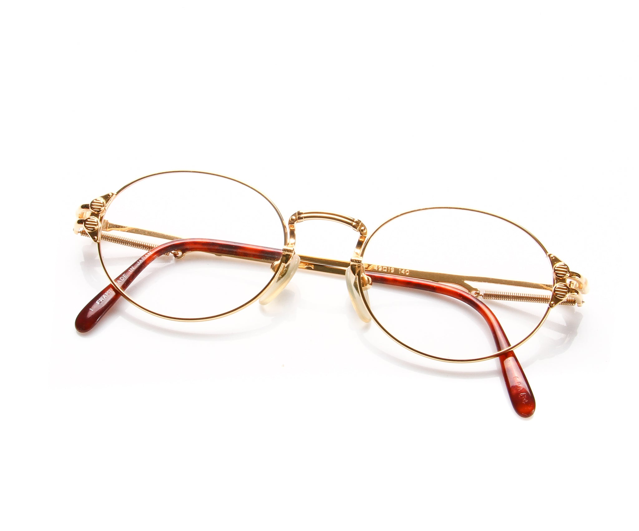 3d9532246 Jean Paul Gaultier 55 4173 1 Gold Plated – Vintage Frames Company