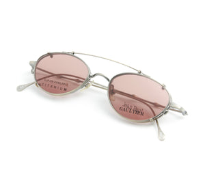 Jean Paul Gaultier 55-0018 1 Titanium-P, Jean Paul Gaultier, glasses frames, eyeglasses online, eyeglass frames, mens glasses, womens glasses, buy glasses online, designer eyeglasses, vintage sunglasses, retro sunglasses, vintage glasses, sunglass, eyeglass, glasses, lens, vintage frames company, vf