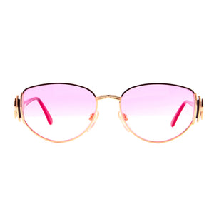 Vintage Hilton Lady Hilton 40 06 (Candy Pink) Front, Hilton, glasses frames, eyeglasses online, eyeglass frames, mens glasses, womens glasses, buy glasses online, designer eyeglasses, vintage sunglasses, retro sunglasses, vintage glasses, sunglass, eyeglass, glasses, lens, vintage frames company, vf
