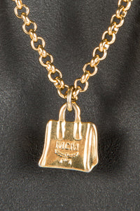 Vintage MCM MM-006 Chain Closeup