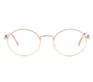 Carrera 4329 (Clear Flash Gold Flat Lens) Front