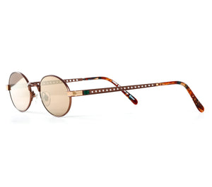 Paolo Gucci 7451 (Brown Flash Gold) Side