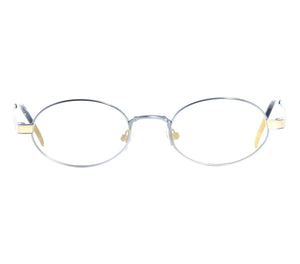 Paolo Gucci 7451 (Light Navy Gradient Flash Gold) Front, Paolo Gucci, glasses frames, eyeglasses online, eyeglass frames, mens glasses, womens glasses, buy glasses online, designer eyeglasses, vintage sunglasses, retro sunglasses, vintage glasses, sunglass, eyeglass, glasses, lens, vintage frames company, vf