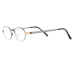 Paolo Gucci 7451 (Light Navy Gradient Flash Gold) Side