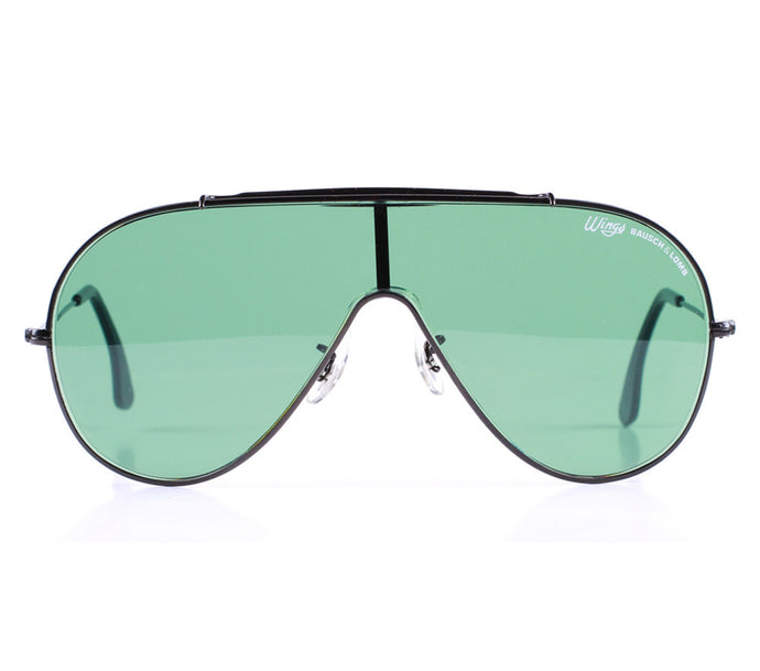 Ray-Ban Wings II Front, Ray-Ban, vintage frames, vintage frame, vintage sunglasses, vintage glasses, retro sunglasses, retro glasses, vintage glasses, vintage designer sunglasses, vintage design glasses, eyeglass frames, glasses frames, sunglass frames, sunglass, eyeglass, glasses, lens, jewelry, vintage frames company, vf