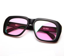 Ultra Goliath Matte Black Multi Flash Pink Flat Lens