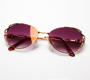 Vittorio Foscari VF 105 10 (Grape Gradient Flash Gold Flat Lens)