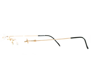 Yohji Yamamoto 51 7109 Col1 Side, Yohji Yamamoto, glasses frames, eyeglasses online, eyeglass frames, mens glasses, womens glasses, buy glasses online, designer eyeglasses, vintage sunglasses, retro sunglasses, vintage glasses, sunglass, eyeglass, glasses, lens, vintage frames company, vf