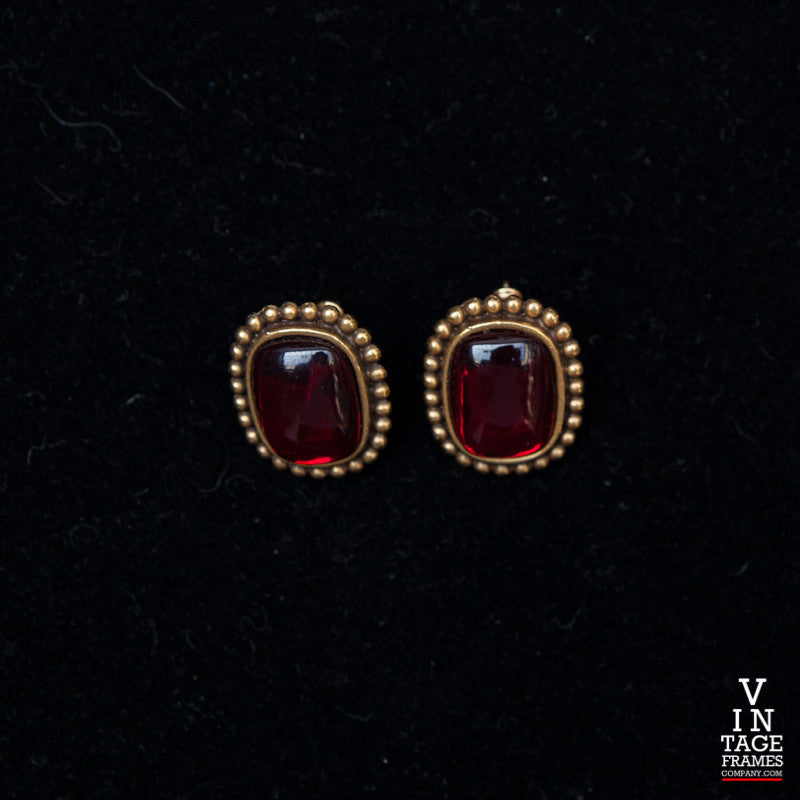 Vintage Yves Saint Laurent YL012 Earrings