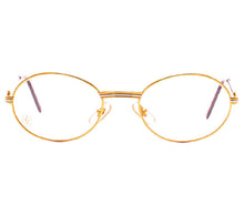 Cartier Saint Honore Gold Clear Lens