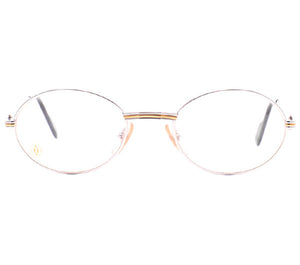 Cartier Saint Honore Platinum/Gold Clear Lens