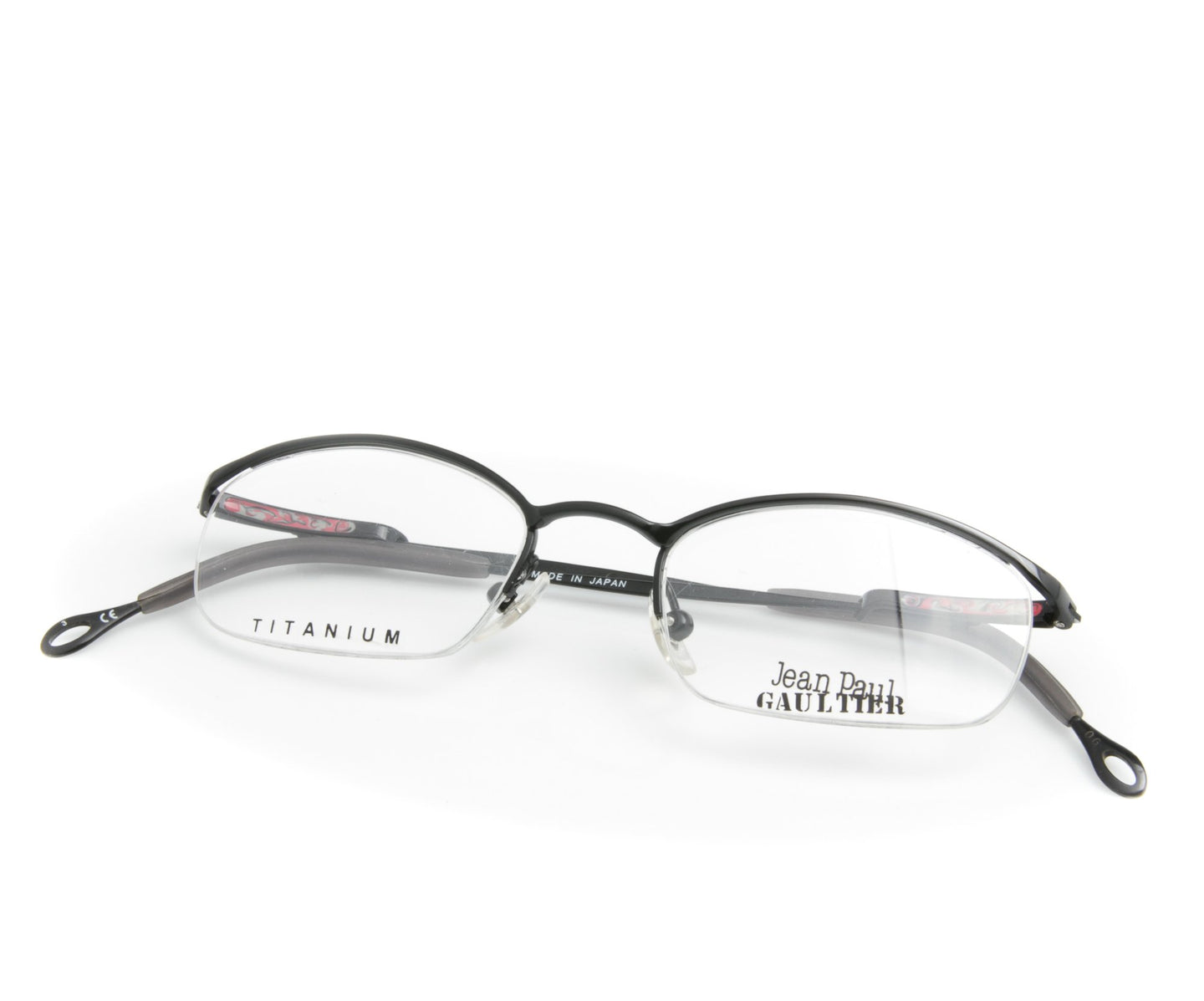 Jean Paul Gaultier 55-0042 3 Titanium-P, Jean Paul Gaultier , glasses frames, eyeglasses online, eyeglass frames, mens glasses, womens glasses, buy glasses online, designer eyeglasses, vintage sunglasses, retro sunglasses, vintage glasses, sunglass, eyeglass, glasses, lens, vintage frames company, vf