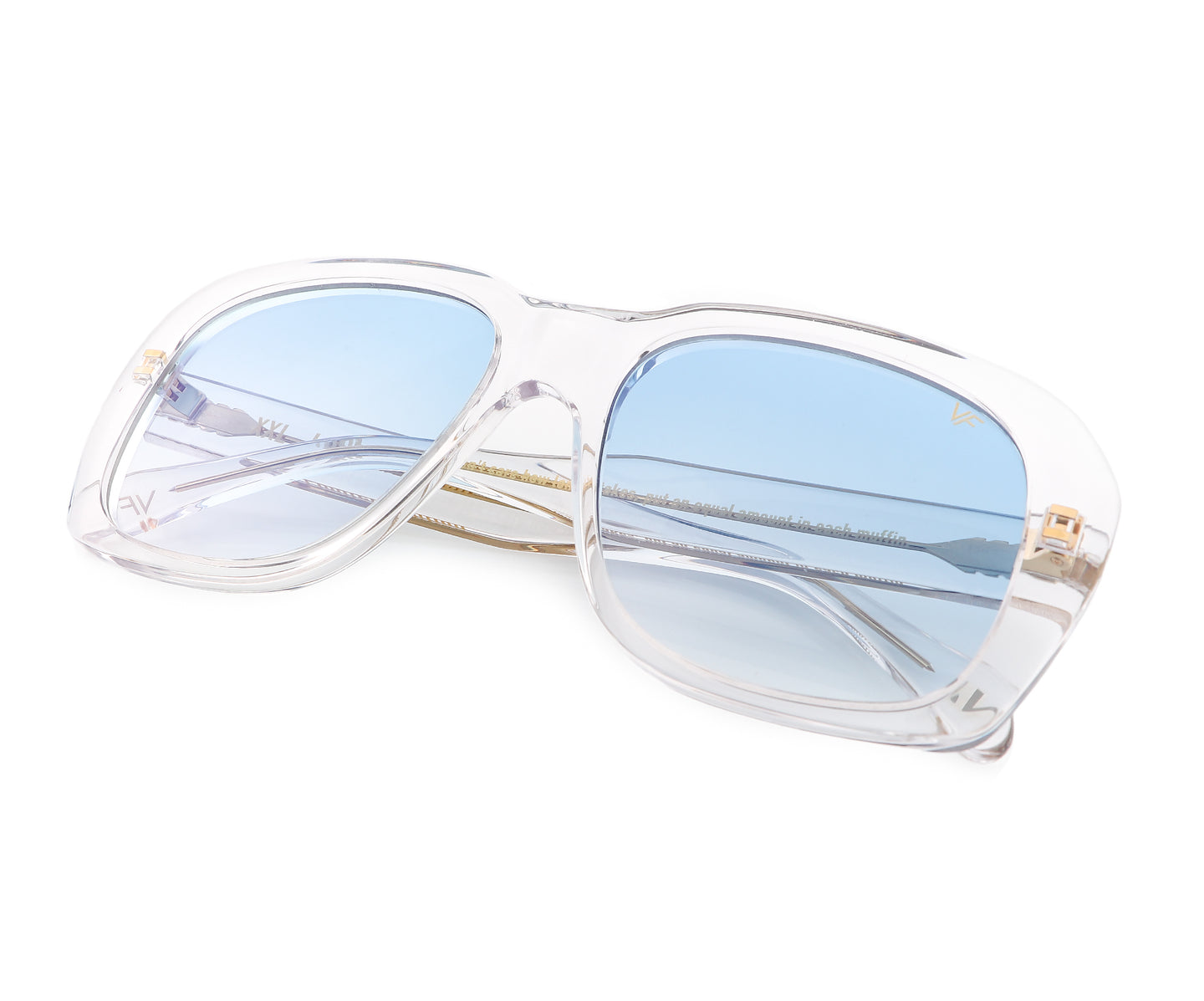 VF XXL Clear Acetate (Blue Gradient), VF Masterpiece , glasses frames, eyeglasses online, eyeglass frames, mens glasses, womens glasses, buy glasses online, designer eyeglasses, vintage sunglasses, retro sunglasses, vintage glasses, sunglass, eyeglass, glasses, lens, vintage frames company, vf