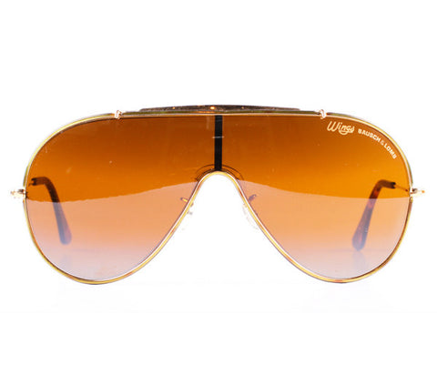 Rayban Wings Tortoise Gold Front E A A B F B A D Ca Large on b f d