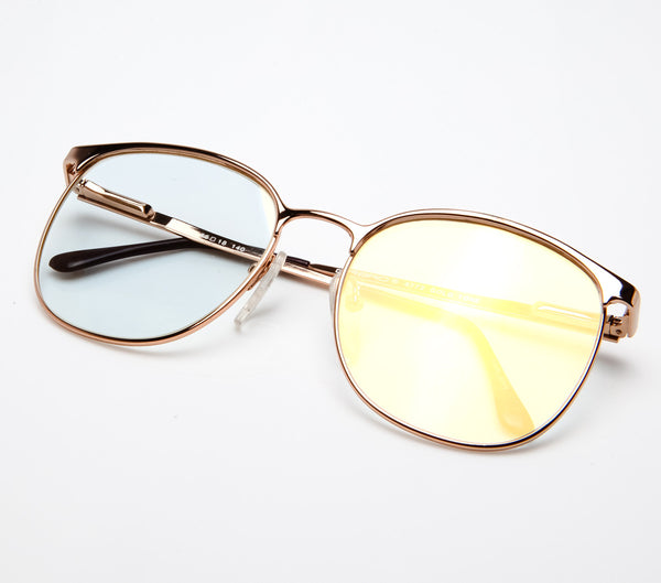 VF by Vintage Frames 90210 (Flash Gold Flat Lens) - Vintage Frames ...