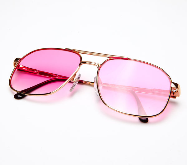 VF by Vintage Frames Snatch BOSS (Hot Pink Gradient Flat Lens ...