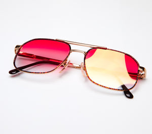 Snatch BOSS Deluxe (Red Gradient Thumbnail, VF by Vintage Frames, glasses frames, eyeglasses online, eyeglass frames, mens glasses, womens glasses, buy glasses online, designer eyeglasses, vintage sunglasses, retro sunglasses, vintage glasses, sunglass, eyeglass, glasses, lens, vintage frames company, vf