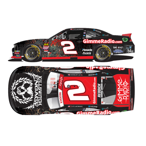 Killswitch Engage | AUTOGRAPHED: 2019 Tyler Reddick Gimme Radio/Killswitch Engage 1:24 Scale Die-Cast