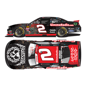 AUTOGRAPHED: 2019 Tyler Reddick Gimme Radio/Killswitch Engage 1:24 Scale Die-Cast *Pre-Order*