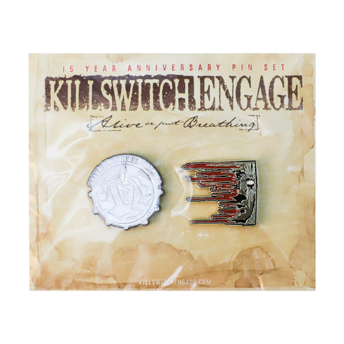 Killswitch Engage Vault | 15 Year Anniversary Pin Set