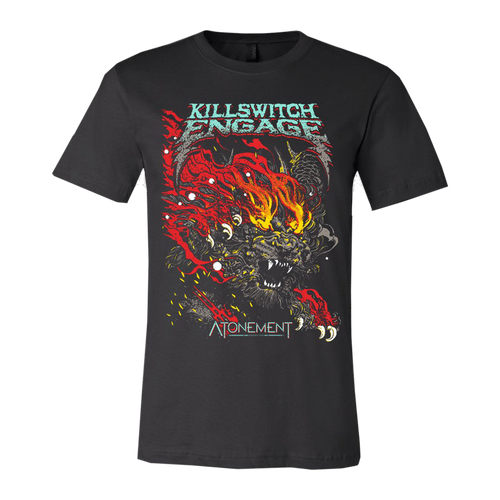 Killswitch Engage | Atonement Album Art T-Shirt - Black