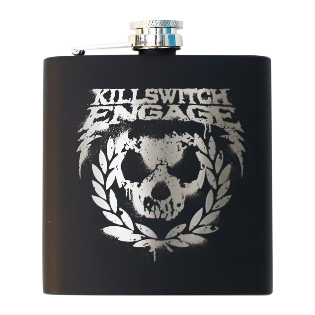 Killswitch Engage Vault | Laser Engraved Flask