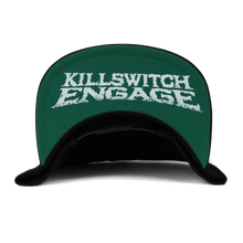Load image into Gallery viewer, Killswitch Engage Vault | Skull Wreath Snapback Hat - Black/White