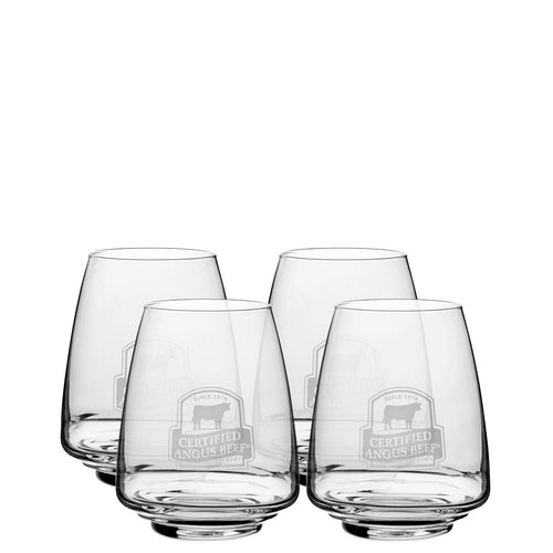 Stemless Crystal Wine Glasses