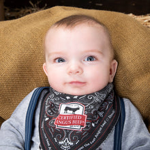 Load image into Gallery viewer, Bandana-style Baby Bib
