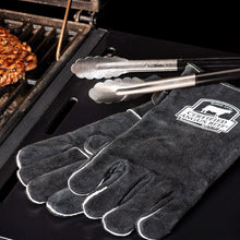 Load image into Gallery viewer, Leather Barbecue Gloves