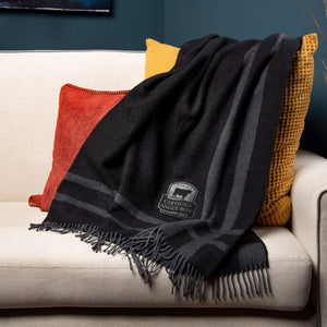Luxurious Wool-Blend Throw