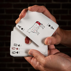 Beef Cuts Playing Cards