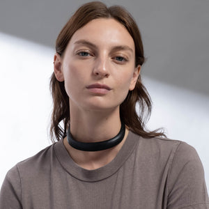 Lucite Collar Necklace
