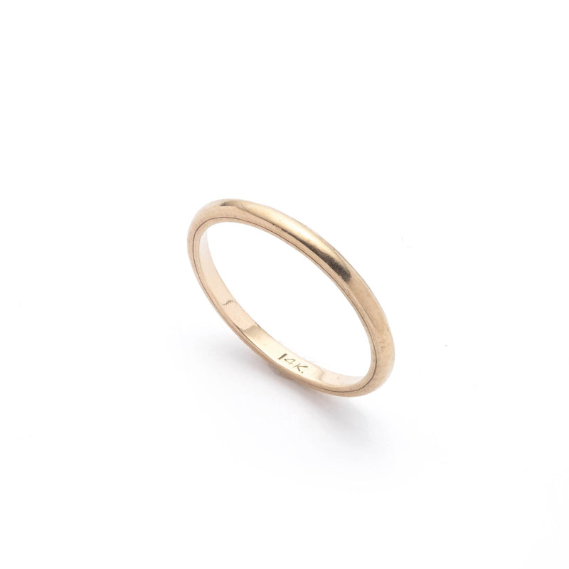Antique 14k Gold Delicate Band Ring