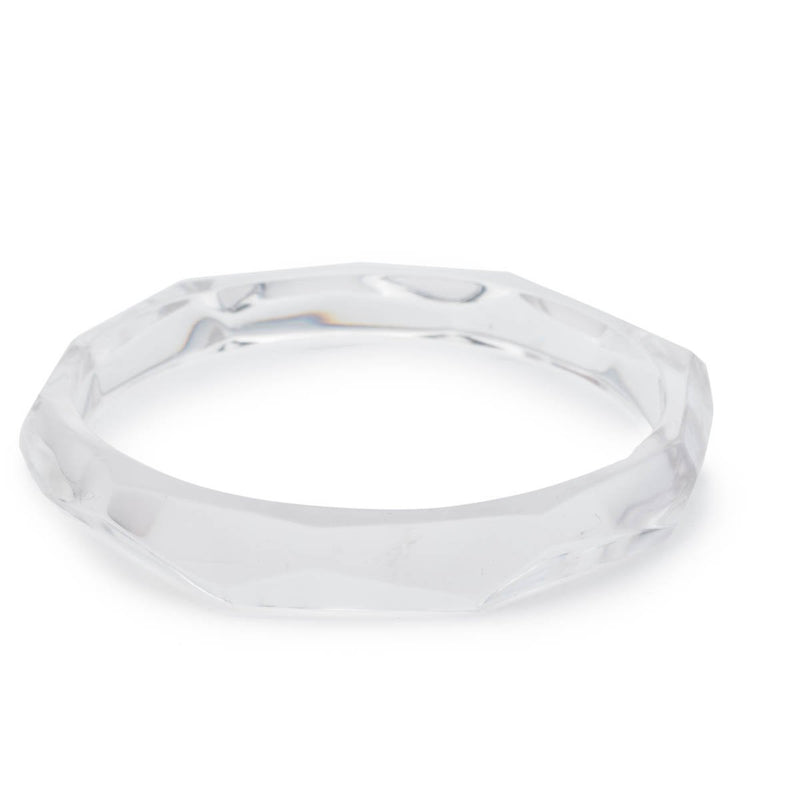 Faceted Bangle Bracelet