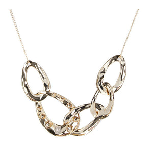 Molten Dot Large Link Necklace