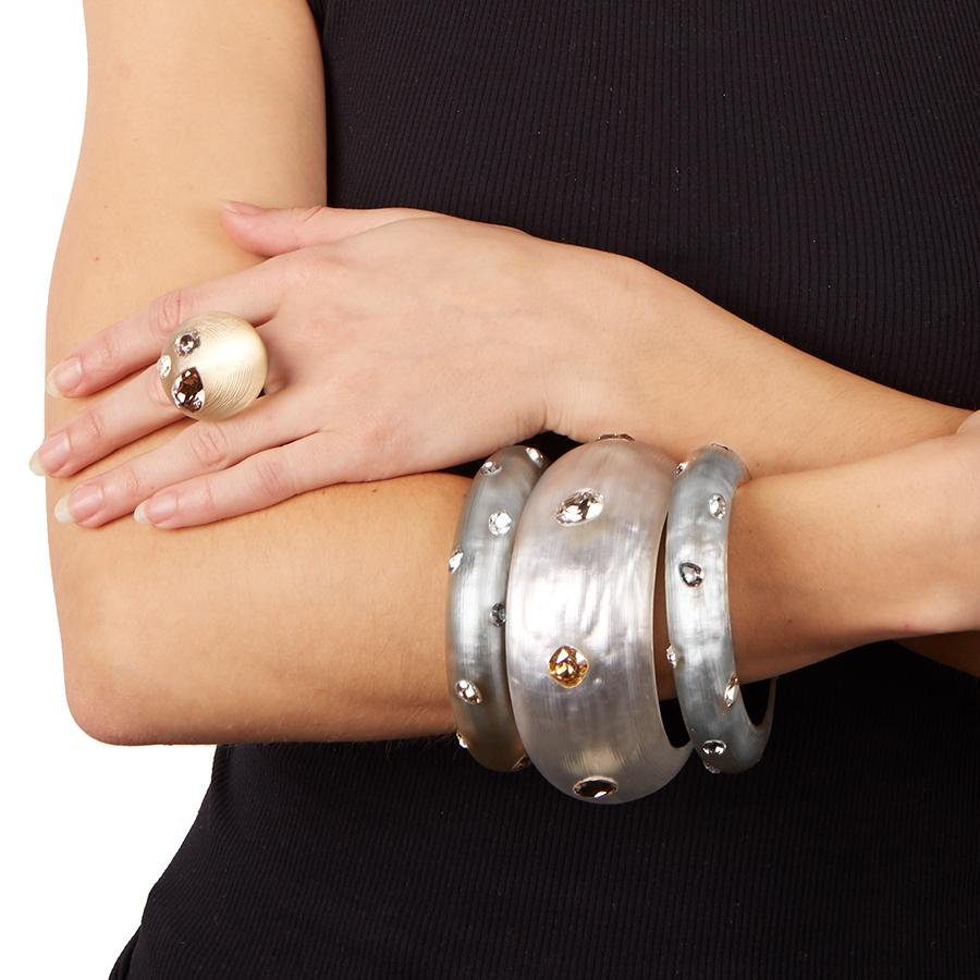 Crystal Studded Small Bangle