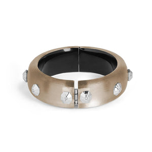 Octogon Studded Hinge Bracelet