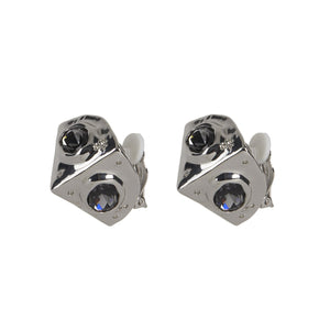 Pyramid Relic Clip Earring