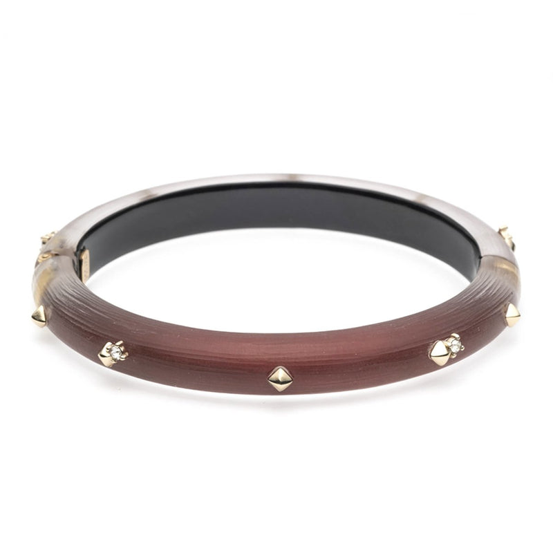 Golden Studded Hinge Bracelet