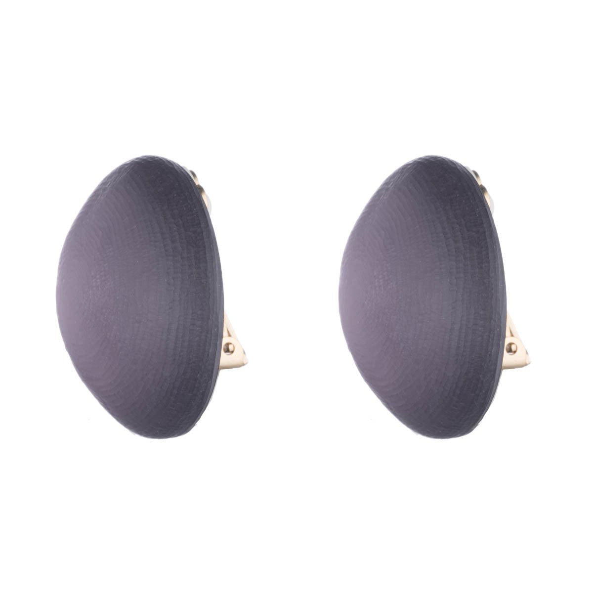 Medium Dome Clip Earring