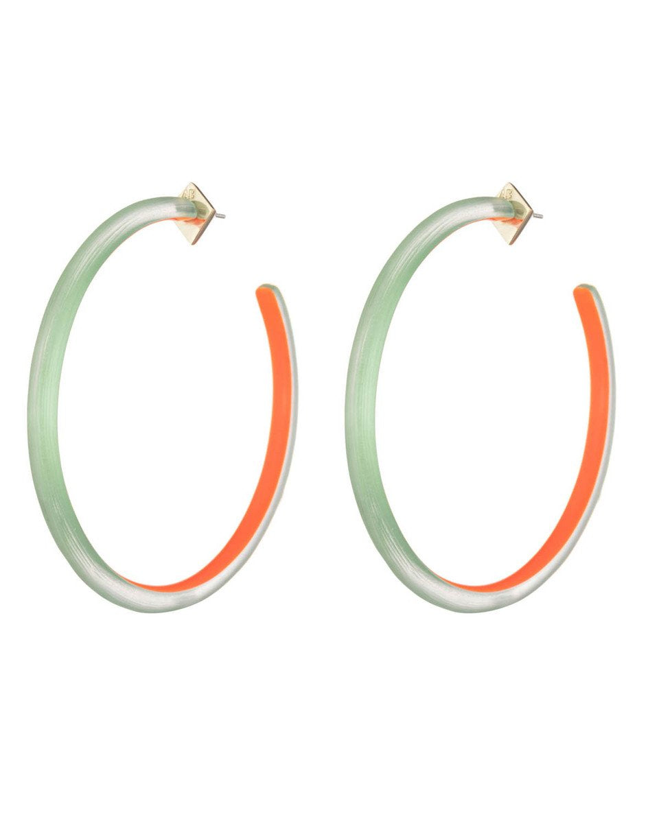 Large Skinny Hoop Earring