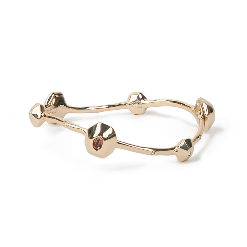 Soft Octagon Bangle Bracelet