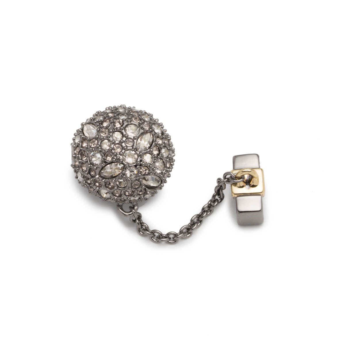 Pave Ball & Chain Slide