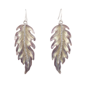 Feather Wire Earring