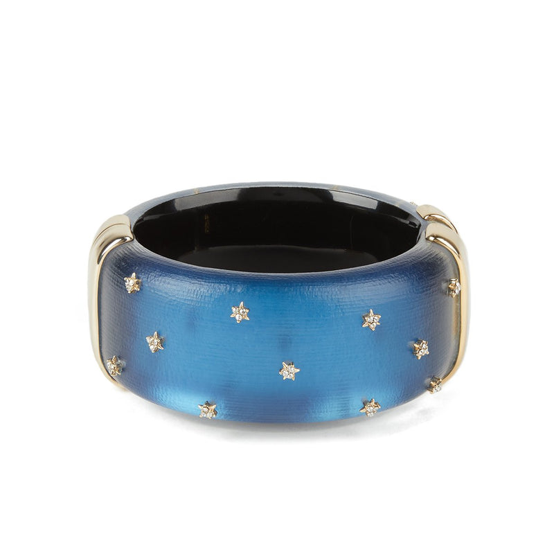 Spike Studded Large Hinge Bracelet