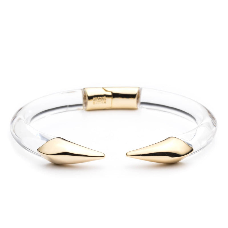 Mirrored Pyramid Brake Hinge Bracelet